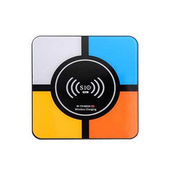 R-TV Box S10 Plus RK3328 4GB RAM 32GB ROM Android 8.1 2.4G WIFI 100M LAN HDR H.265 VP9 USB3.0 TV Box with Wireless Charging for Qi-Enabled Device