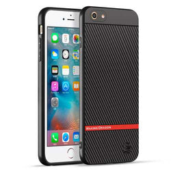 Carbon Fiber Anti Fingerprint Protective Case For iPhone 6s Plus/6 Plus 5.5