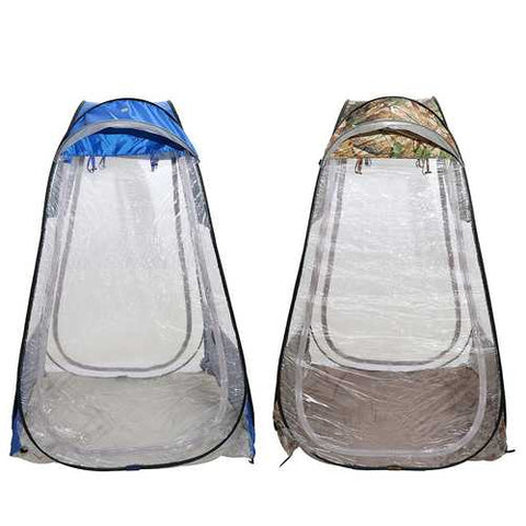 Outdoor Camping Single Pop-up Tent Waterproof Anti-UV Canopy Sunshade Shelter