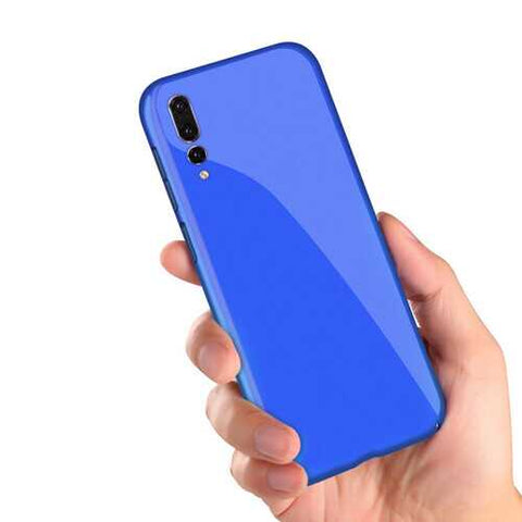 Bakeey Luxury Piano Paint Silky Hard PC Hard Back Protective Case For Huawei P20 Pro