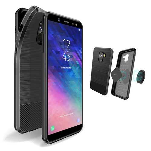 DUX DUCIS Magnetic Soft TPU Protective Case for Samsung Galaxy A6 2018