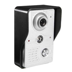 7Inch Wire Video Door Phone Doorbell Intercom Camera Monitor Security Night Vision