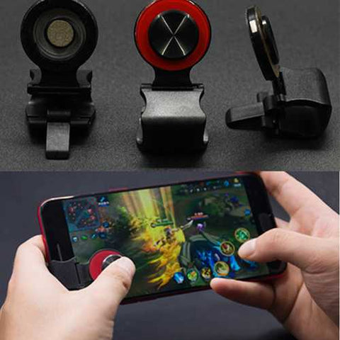 Bakeey A9 Touch Screen Arcade Game Controller Joystick Clip-on Clamp For Mobile Phone Tablet