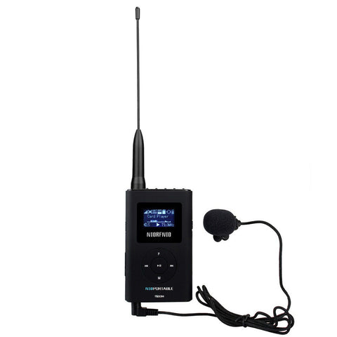 NIORFNIO T600M MP3 Broadcast Radio FM Transmitter