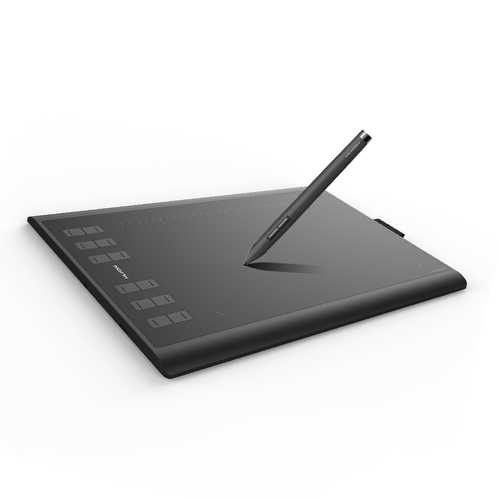 "Huion New 1060 Plus 10x6.25"" 8192 Levels Graphics Tablet USB Digital Drawing Pad with Digital Pen"