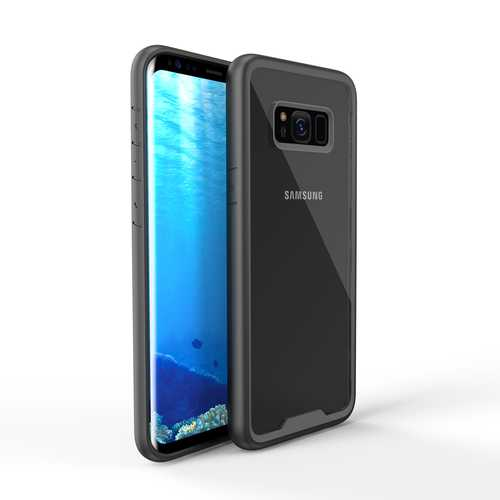 Bakeey Transparent Protective Case For Samsung Galaxy S8 Plus Anti Knock TPU & PC Case