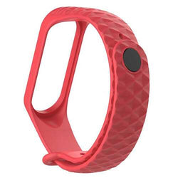 Diamond Grain Silicone Watch Band for Xiaomi Miband 3