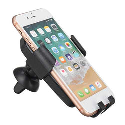 2 in 1 Gravity Qi Wireless Charger LED Cell Phone Car Air Vent Charging Mount Holder