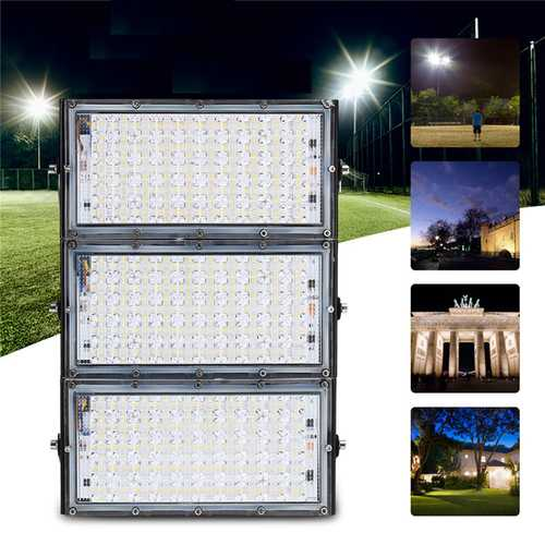 150W 150 LED Flood Light IP65 Waterproof Outdoor Super Bright Security Light AC180-265V