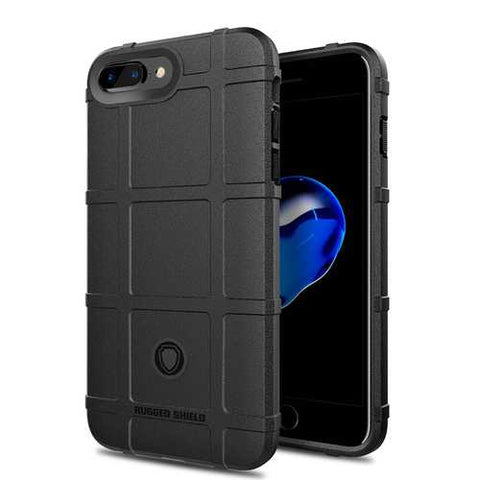 Bakeey Rugged Shield Soft Silicone Protective Case for iPhone 7 Plus/8 Plus