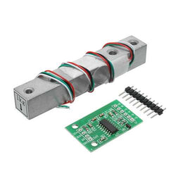 3pcs HX711 24bit AD Module + 1kg Aluminum Alloy Scale Weighing Sensor Load Cell Kit For Arduino