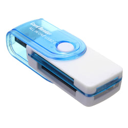 4-in-1 USB 2.0 M2 MS SD TF Card Reader