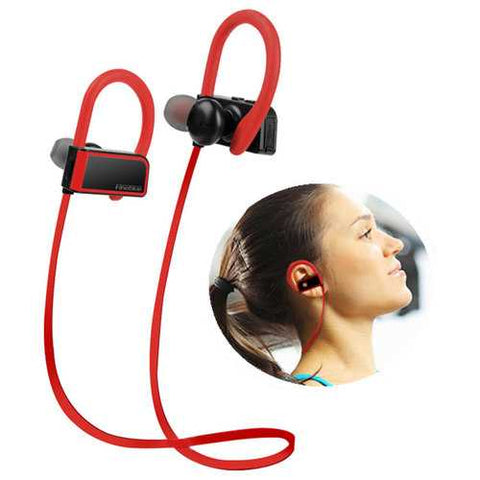 Wireless bluetooth Earphone HIFI Mini Stereo IPX5 Waterproof Noise Cancelling Sport Headset Earphone