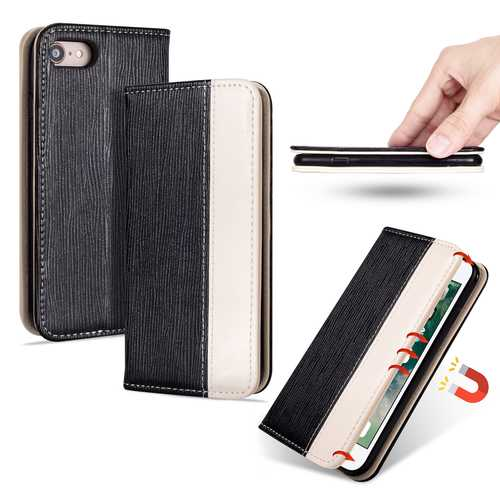 Bakeey Premium Magnetic Flip Card Slot Kickstand Protective Case For iPhone 7/iPhone 8