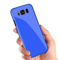 Bakeey Piano Paint Glossy Hard PC Protective Case for Samsung Galaxy S8 Plus