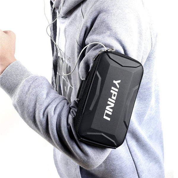 YIPINU Sport Running Waterproof Large Capacity Arm Bag for Samsung Xiaomi Mobile Phone