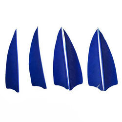50pcs 4 Inch Arrow Feathers Fletching Left Or Right For Archer Archery Bow Hunting Accessories