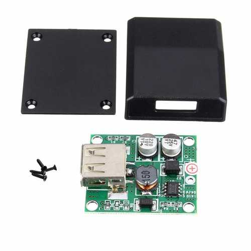 DIY 5V 2A Voltage Regulator Junction Box Solar Panel Charger Special Kit For Electronic Production