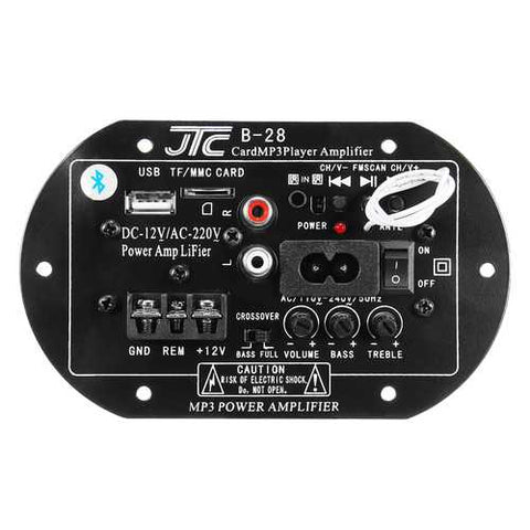 12V 220V bluetooth Power Amplifier High Power Subwoofer Car Amplifier Board