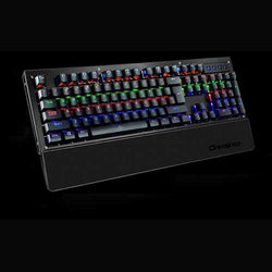 104 Keys Blue Switch USB Wired Backlit Mechanical Computer Gaming Keyboard
