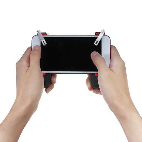 X1 2 in 1 Mobile Phone Gamepad Hand Grip Handle Grip Joystick for Mobile Phone