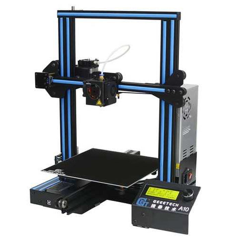 Geeetech A10 Aluminum Prusa I3 3D Printer 220*220*260mm Printing Size With Open Source GT2560 Control Board Support Remote Control/Off-line Printing