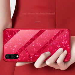 Bakeey Shell Glossy Tempered Glass Soft Edge Protective Case for Huawei P20/ Huawei nova 3e/ P20 PRO