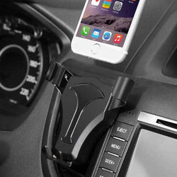 Universal Metal Gravity Linkage Auto Lock Car Holder for iPhone Xiaomi Mobile Phone Under 5.5 Inches