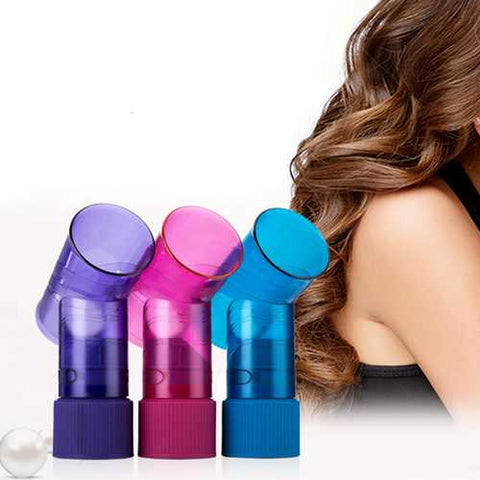 4 Colors Wind Spin Curl Hair Dryer Curl