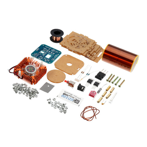 DIY Music Tesla Coil Module Kit ZVS Technology Physics Electronics Small Tesla Spare Parts