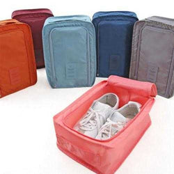 Convenient Travel Storage Bag Nylon 5 Colors Portable Organizer Bags Shoe Sorting Pouch Multifunction Bag