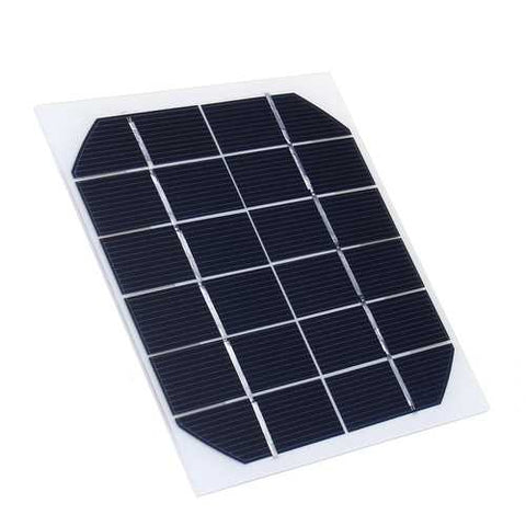 5Pcs 6V 350MA Monocrystalline 2W Mini Solar Panel Photovoltaic Panel