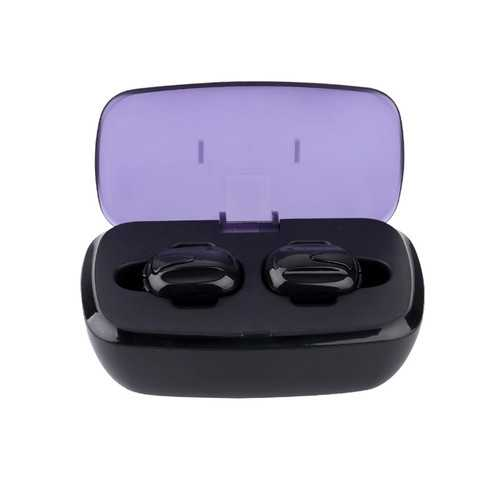 [Truly Wireless] K8 Business Bluetooth Earphone Binaural Invisible Sports Headset With Charging Box