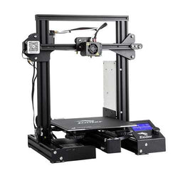 Creality 3D Ender-3 Pro V-slot Prusa I3 DIY 3D Printer 220x220x250mm Printing Size With Magnetic Removable Platform Sticker/Power Resume Function/Off-line Print/Patent MK10 Extruder/Simple Leveling
