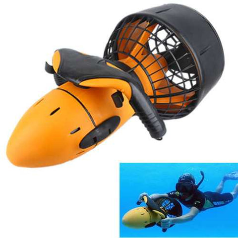 Waterproof 300W Electric Underwater Sea Scooter Dual Speed Propeller Drving Pool Rc Submarine Toy