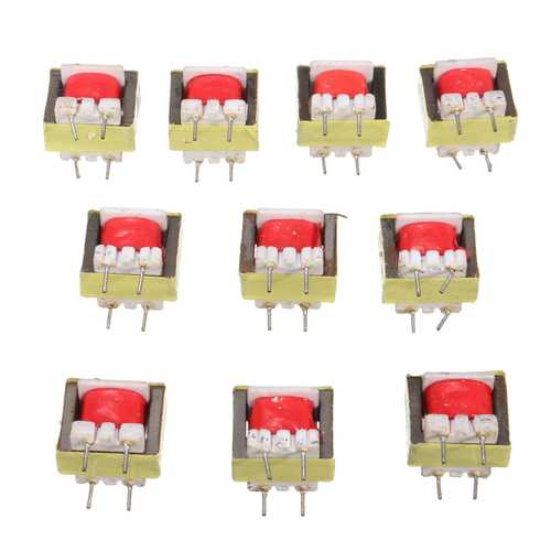 30pcs 1300 : 8 Ohm Audio Transformer EE14 Transformateur Audio POS Transformador