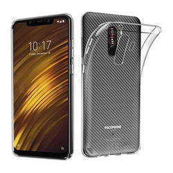 Bakeey?? Transparent Shockproof Soft TPU Back Cover Protective Case for Xiaomi Pocophone F1