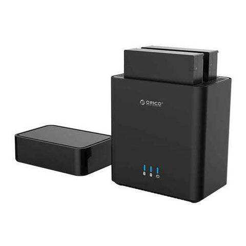 Orico DS200U3 USB3.0 Dual-Bay 3.5inch Hard Drive Enclosure Magnetic-type HDD SSD Docking Station