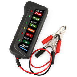 Ancel BST100 12V 6 LED Light For Vehicle Car Battery Tester Diagnostic Tool
