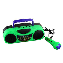 Teenage Mutant Ninja Turtles Portable Radio Karaoke Kit With Microphone
