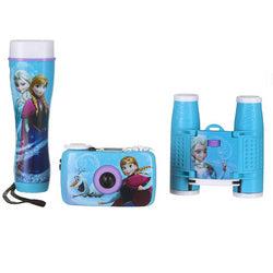 Disney Frozen Adventure Kit w/35mm Camera, Binoculars and Flashlight