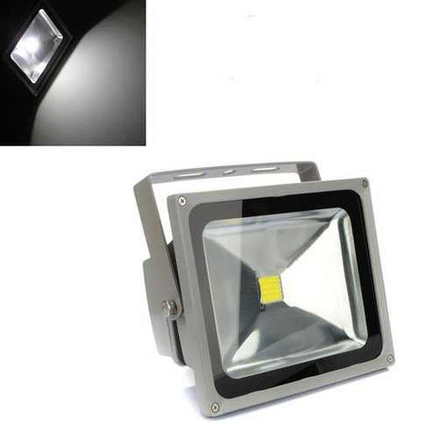 30W White 2200-2500LM Waterproof Outdoor LED Flood Light Lamp