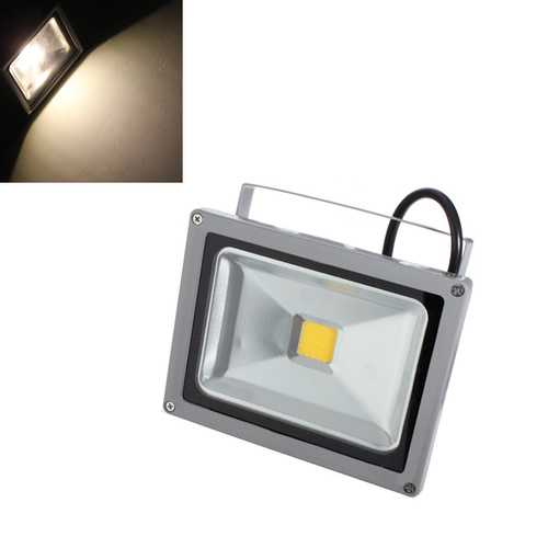 20W Warm White 1800-2000LM LED Waterproof Outdoor Flood Light 85-265V