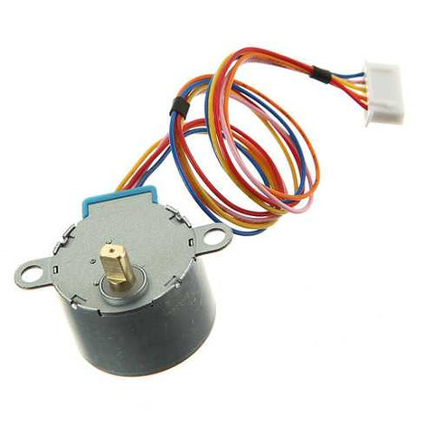 Gear Stepper Motor DC 5V 4 Phase 5-Wire Reduction Step Geekcreit for Arduino - products that work with official Arduino boards