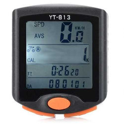 Bike Bicycle Waterproof Electronic Four Screen Display Speedometer