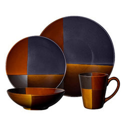 Gibson Elite Convergence 16-Piece Dinnerware Set