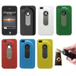 Practical Two In One Beer Bottle Opener Hard Case For iPhone 5