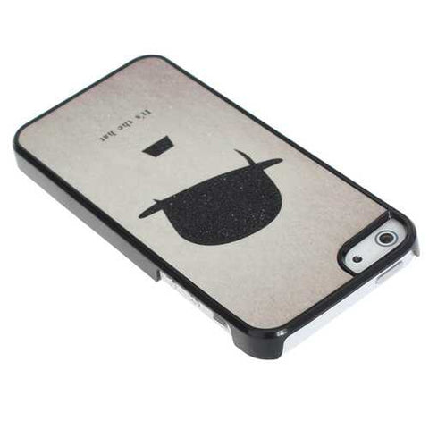 Frosted Couple Hat Lovers Boy Hard Plastic Case Cover For iPhone 5