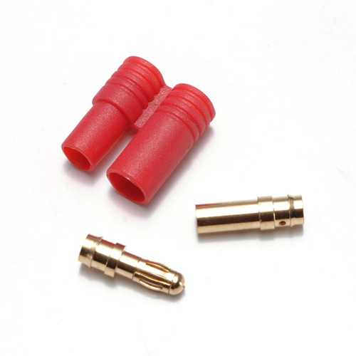 3.5MM Gold Plated Banana Plug With Belt Sheath