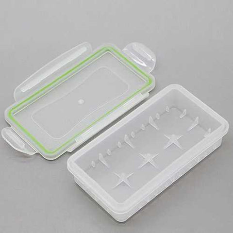 Waterproof Protective Battery Storage Case for 2x18650,4x16340